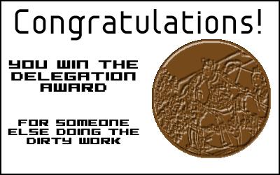 Award: Delegation