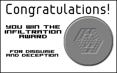 Award: Infiltration