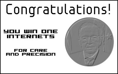 Award: Internet